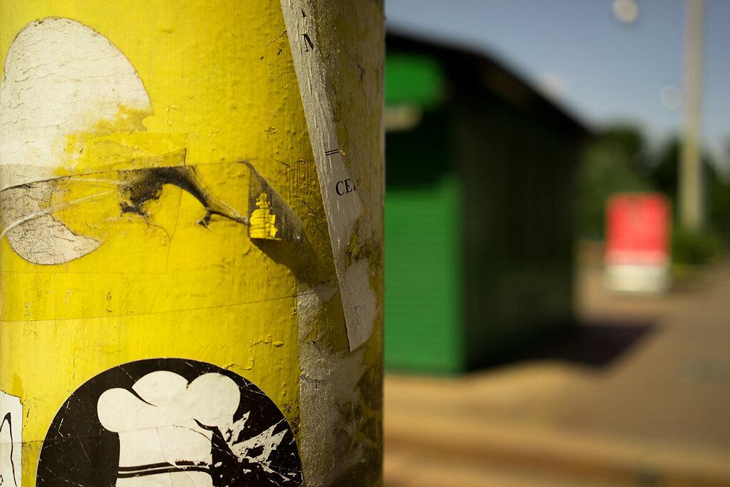"2014, Italy, Milano in ""Yellow"""